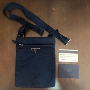 Prada crossbody certificate and dust bag